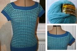 2014- Stevenson by Kate Davies in inherited Vintage Jaeger yarn